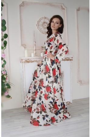 """Платье женское """"Желанная"""" светлое"""