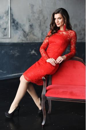"""Платье """"LEDY in red"""""""