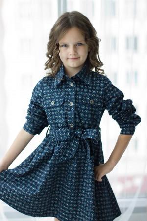 """""""Джейн"""" платье -рубашка детское"""